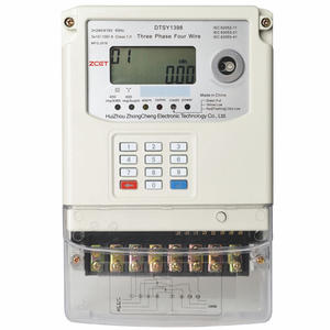 China Three-phase Keypad Prepaid Meter Supplier